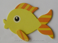 wholesale art minds decorative wood fish for hobby use