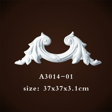 High Density Polyurethane Foam Pu Chair Rails <strong>Moulding</strong> For Wall Decor