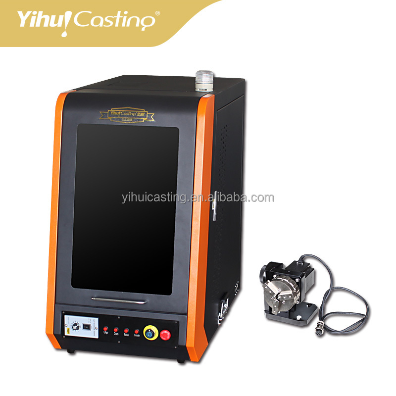 Recovery type Yihui 30W jewelry Laser marking or laser cutting with clamp