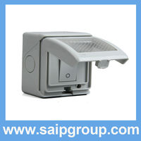 Waterproof switches and socket outlets SKW 1GBS