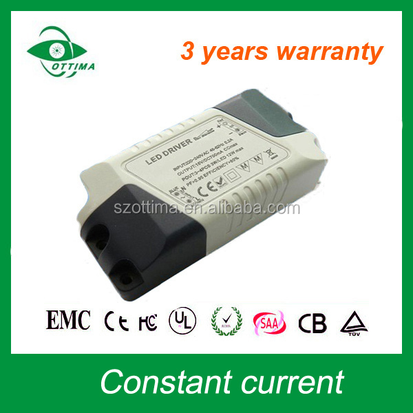 led driver 25w 600ma led power supply constant current led driver for led downlight
