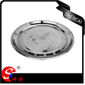 Hot Selling Stainless Steel Grape Pattern Plate/Food dish/Dinner plate