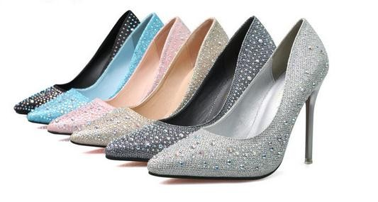 The new korea fashion sweet ladies stiletto heels elegant shoes