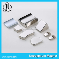 Customized Arc shape permanent magnet generator/neodymium magnet motor