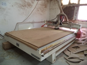CNC Routing (Poker Table)