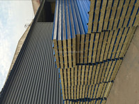 wall paneling materials/Rockwool sandwich panel raw material