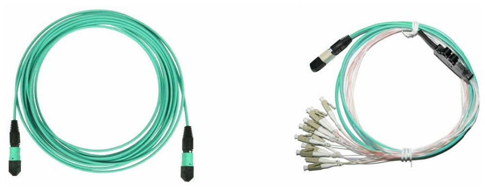 24 Fibers MPO Female to MPO Female Trunk Cable