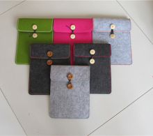 "9"", 11"", 13.3"" Laptop Sleeves Waterproof case Felt Protect bag for Ipad and Macbook Air"