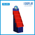 High 4 layers Cardboard floor display rack for toys