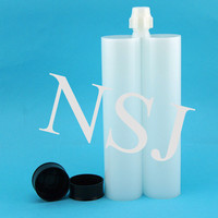 600ml 1:1 Dual Industrial Sealant Caulking Cartridge for packing sealants, adhsives in Electronics&Indsutry