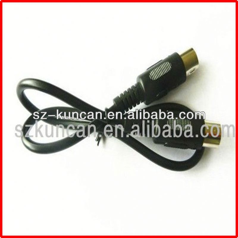 8pin din to scart cable male to male extension cable