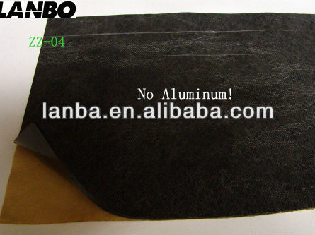 car acoustic damping material- ZZ-04-help car reduce road/wind/engine noise