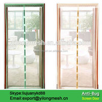 Polyester Anti-Mosquito Magnetic Mesh Screen Door