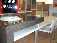 Acrylic solid surface for reception desk /bar & kitchen counter top