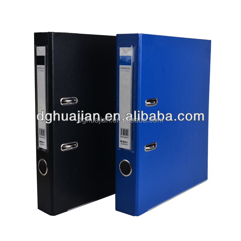 A4 file box,lever arch file portfolio light fixtures replacement PP material from Dongguan Manufacture
