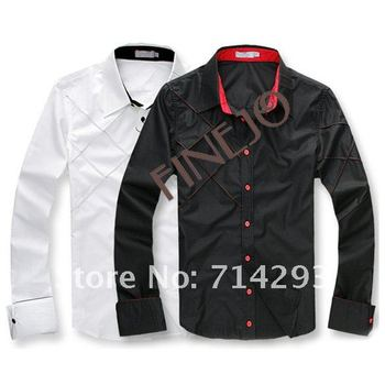 Lastest Men's design long sleeve shirt 3276