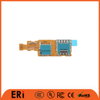 Factory wholesale price card socket flex cable for samsung S5