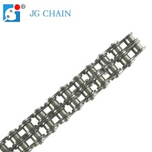Small din alloy double row transmission steel roller chain 6.35