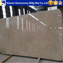 Crema nova marble beige color for slabs and tiles