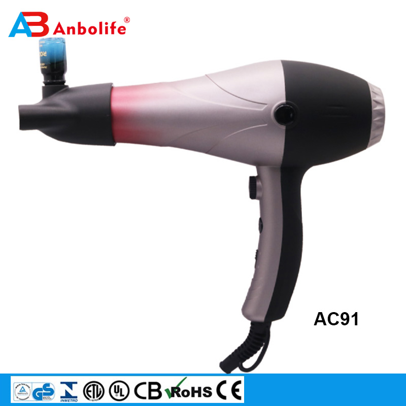 Anbolife 2200W Professional 2 Speeds 3 Heat SettingsPowerful Fast Dry Blow Dryer Ionic generator Hair Dryer