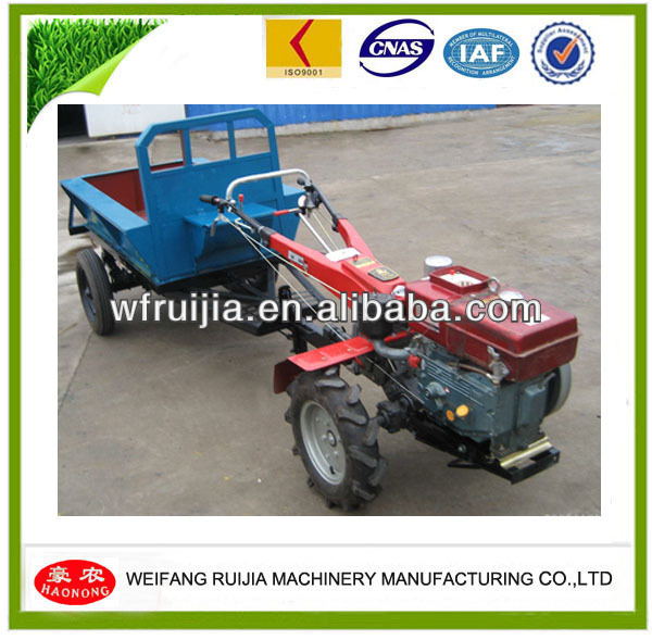 ALIBABA SUPPLIER!!!!Two Wheel 3 Point Power Tools Mini Tractor/ Hand Tool with Trailer