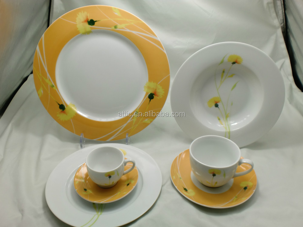 2015 Modern melamine tableware corelle dinner set for chirldren