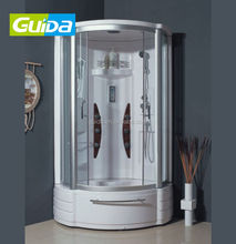 Ningbo SONDA sliding portable glass steam shower door room screen