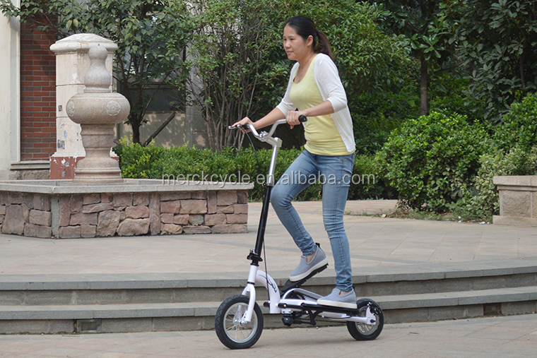 Human power Pedal 2 wheel scooter bike for adult
