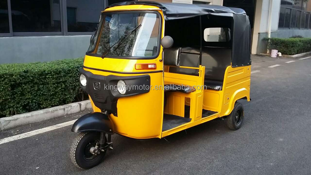 Bajaj RE 205 Hot Sales in Africa ,Supply TVS King In tricycle Bajaj Petrol Passenger Tricycle