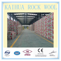 150mm Non-combustible Noise Insulation Material Rockwool Plate