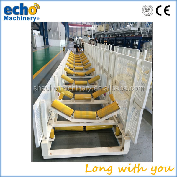 heavy duty high loading capacity coal mining industry belt conveyor OEM impact roller with China factory price