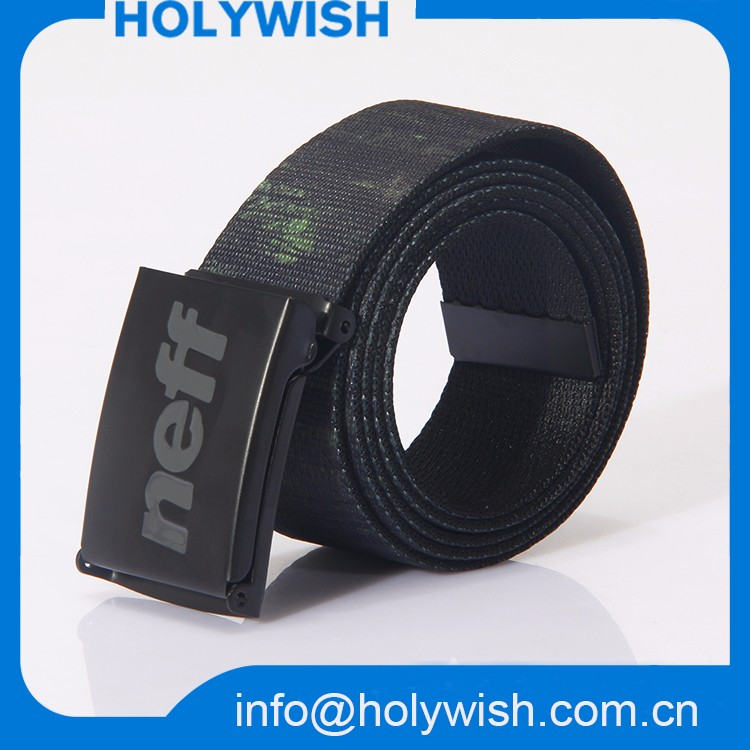 Factory Wholesale Custom Brand Name Waist Belts For Men