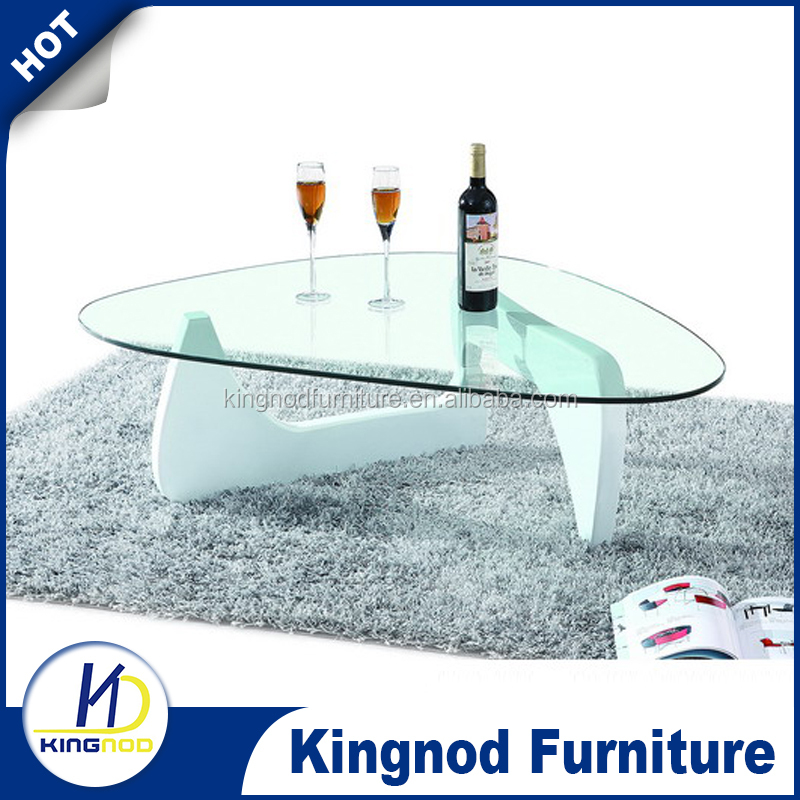 Cheap price mdf wooden tea table with glass top buy for Glass tea table price