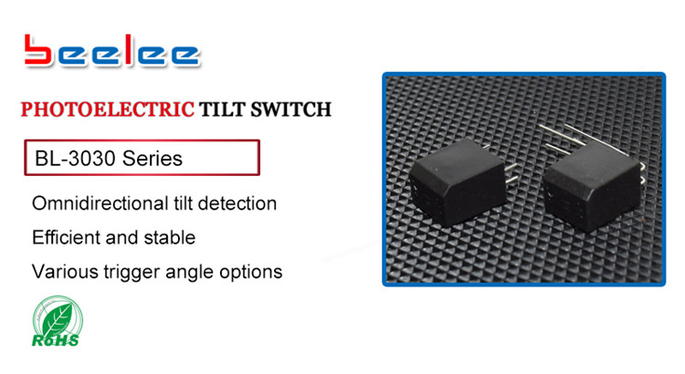 BL-3030Lseries Photoelectric tilt switch sensor is electric tilting vertical mounted