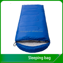 Stylish Camping hiking envelope sleeping bag with hood outdoor