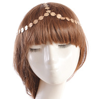 C58764S Bohemian Women Metal Head Chain Headband Piece Hair band Fashion Jewelry Accessories