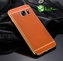 Leather Mobile Phone Case For iPhone And Samsung S8