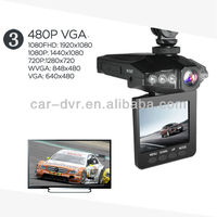 2.5 inch HD portable dvr with TFT LCD screen car dvr car black box