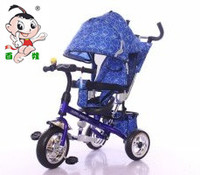 2016 new model 4 in 1 baby tricycle / good price children tricycle with canopy and pushbar / cheap kids tricycle for sale