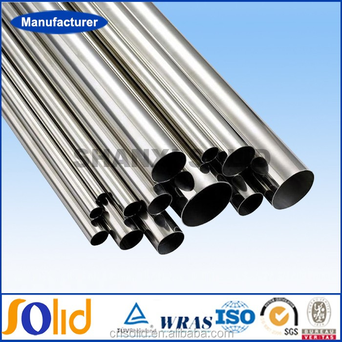 Manufacturers Stainless Steel Round Tubes