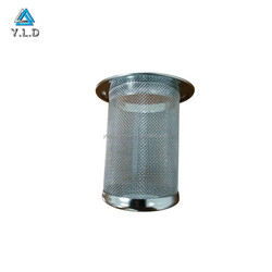 Customized High Precision Stainless Steel Welding Filter Tube Metal Aquarium Fish Tank Cylinder