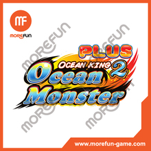 Ocean Monster plus king 2 Thunder Dragon fishing game machine software kits