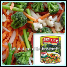 Delicious Canned Mixed Vegetables in tin/glass jar