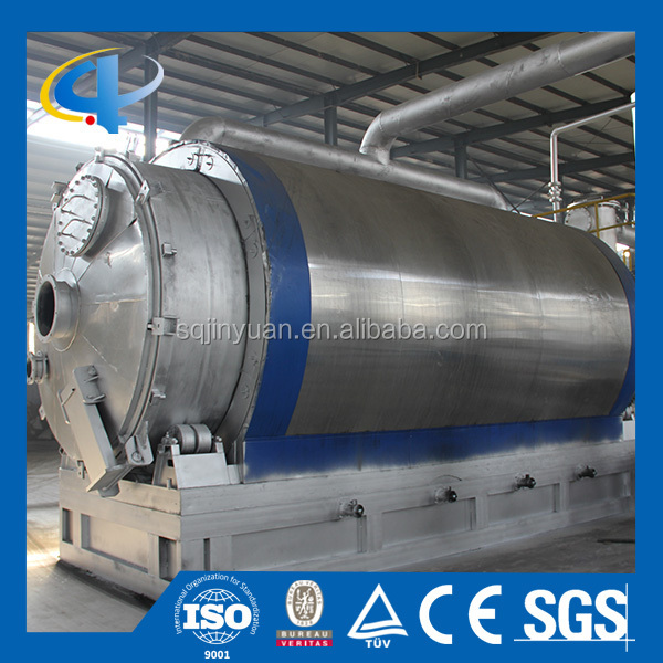 Best Seller Used Tire Pyrolysis Equipment with High Oil Yield in China/After-sales Service Provided Garbage Power Station