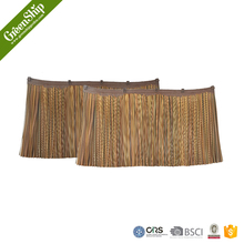 flexibility artificial synthetic palm leaves for thatch roof