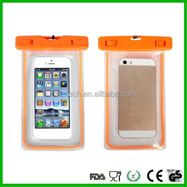 For iPhone 7 TPU floating waterproof cases bag for mobile phone