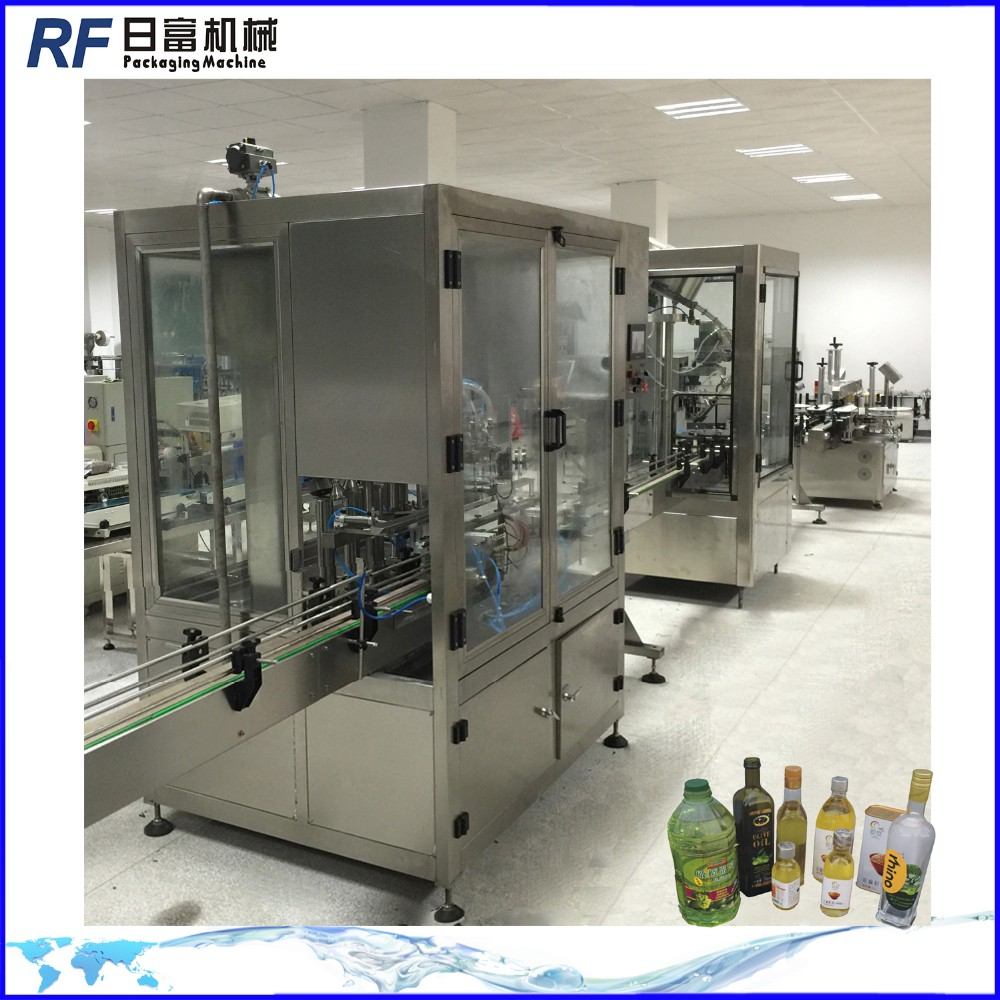 automatic cooking/coconut /edible oil bottle filling machine