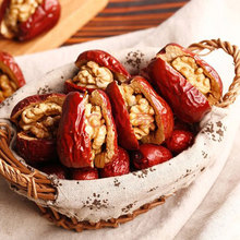 Chinese Delicious Red Dates with Walnut Meats/low price and high quality
