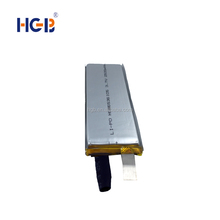 High quality HGB6536105 2500mAh 3.7v 5C rechargeable lithium polymer battery for RC hobby