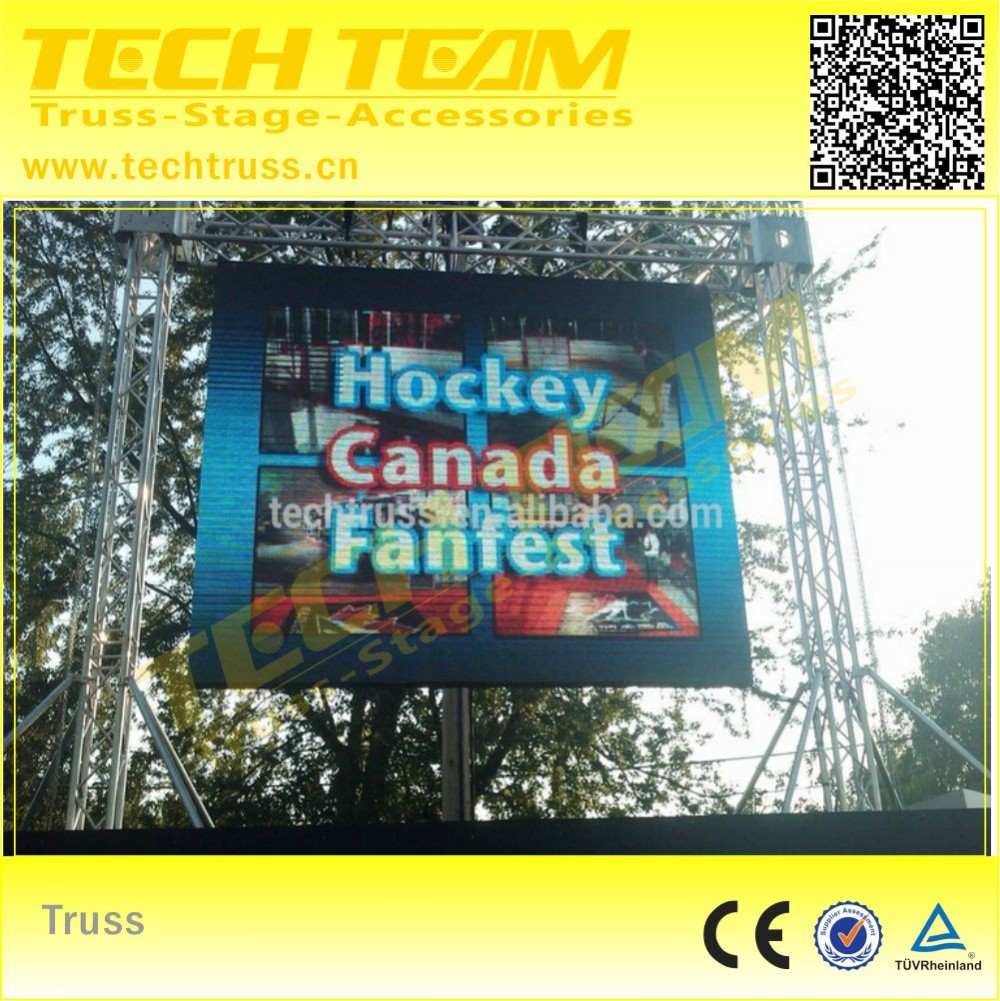 Aluminum LED Display Truss System ,used aluminum truss